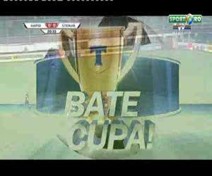 Rezumatul meciului Rapid-Steaua 0-1, Cupa Romaniei