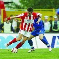 Faza de soc din Otelul - Steaua 1-0