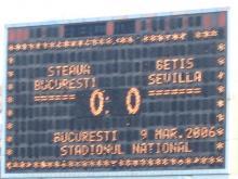 Steaua 0-0 Betis