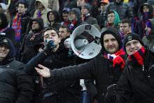 Atmosfera de la Steaua-Schalke