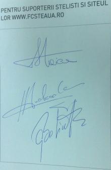 Autografe Tudorel, Helmuth, Gaboaja