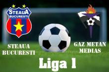 Avancronica Steaua - Gaz Metan Medias