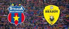 Bilete pentru Steaua - FC Brasov, la case in ziua meciului !