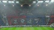 Coregrafia peluzei Nord la meciul Steaua-Larnaca