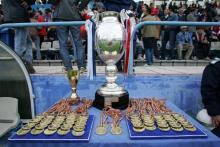 Ros - albastrii, laureatii Galei Fotbalului Romanesc