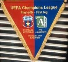 Fanion Steaua-Ludogorets