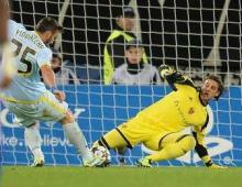 Gol Piovaccari (Foto: OnlineSport)