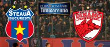 LIVE BLOG: Steaua - Dinamo (Semifinale Cupa Romaniei - TUR)