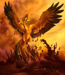Phoenixul renaste din propria-i cenusa.