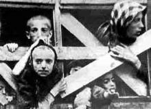 Primul val de deportati in Siberia