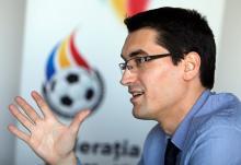 Razvan Burleanu este noul presedinte al FRF