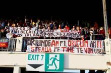 Steaua a fost sustinuta in Irlanda de 4000 de suporteri stelisti.