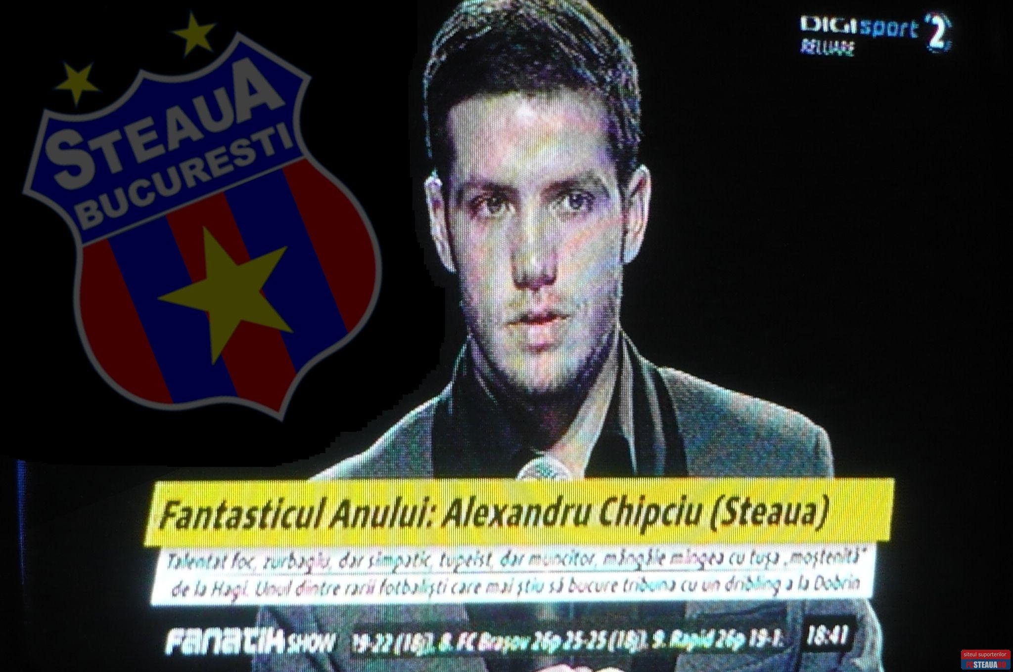 Stelei Alexandru Chipciu Steaua Bucuresti Fcsteauaro
