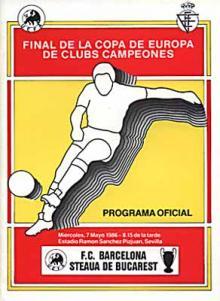 Afisul finalei de la Sevilla