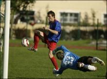 Iacob inscrie primul gol, in secunda 54 - foto GSP