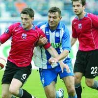 Mirel Radoi, Sorin paraschiv - Poli Iasi - Steaua 0-0