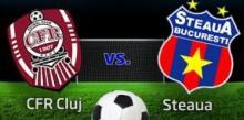 Avancronica CFR Cluj - Steaua