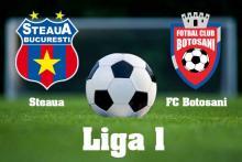 Avancronica Steaua - FC Botosani