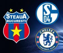 Bilete pentru Steaua - Schalke si Chelsea - Steaua
