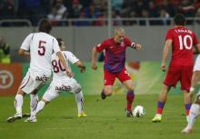 Bourceanu, la primul gol pentru Steaua