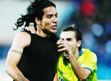 Dayro s-a bucurat enorm pentru golul marcat la redebutul in culorile rosu si albastru.