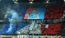 Dinamo - Steaua atmosfera din peluza stelista