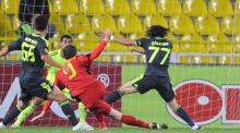 Kapetanos a inscris primul gol al Stelei in grupele Europa League.