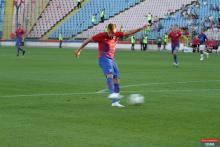 Mihai Pintilii, la primul gol pentru Steaua