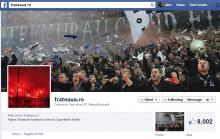 Pagina de facebook fcsteaua.ro a ajuns la 8,000 de like-uri