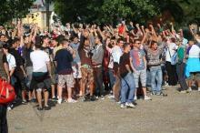 Protestul suporterilor adunati in complexul Ghencea