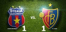 Steaua, egalata de FC Basel la ultima faza