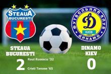 Steaua - Dinamo Kiev 2-0