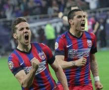 Steaua a masacrat-o pe Dinamo (5 - 2) si e cu un pas in finala Cupei
