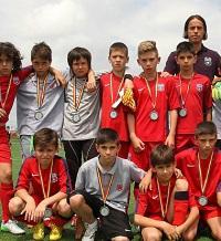 Steaua juniori 2003 - vicecampionii Romaniei