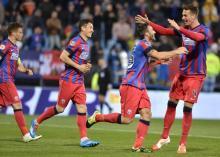 Steaua peste AC Milan, AS Roma si Monaco