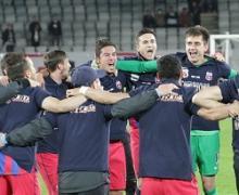 U Cluj - Steaua 0 - 1. Campionii, Campionii! Titlul 25 oficial in Ghencea!